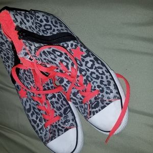 Converse All Star Animal Print Sneakers